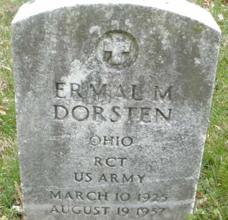 DORSTEN, ERMAL M. - Montgomery County, Ohio | ERMAL M. DORSTEN - Ohio Gravestone Photos