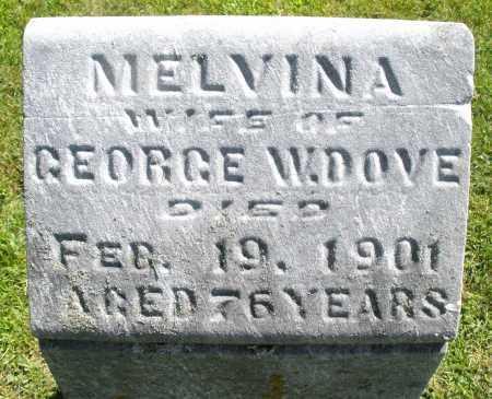 DOVE, MELVINA - Montgomery County, Ohio   MELVINA DOVE - Ohio Gravestone Photos
