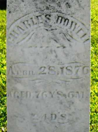 DOWELL, CHARLES - Montgomery County, Ohio | CHARLES DOWELL - Ohio Gravestone Photos