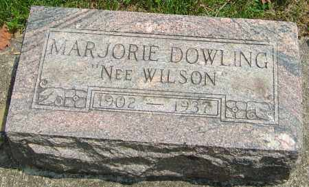 WILSON DOWLING, MARJORIE - Montgomery County, Ohio | MARJORIE WILSON DOWLING - Ohio Gravestone Photos