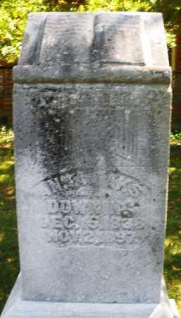 OAKS DOWNING, ANNIE - Montgomery County, Ohio | ANNIE OAKS DOWNING - Ohio Gravestone Photos