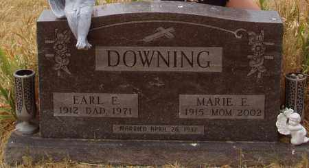 CLUNE DOWNING, MARIE EVANGALINE - Montgomery County, Ohio | MARIE EVANGALINE CLUNE DOWNING - Ohio Gravestone Photos