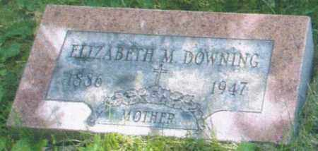YOUNG DOWNING, ELIZABETH MAY - Montgomery County, Ohio   ELIZABETH MAY YOUNG DOWNING - Ohio Gravestone Photos
