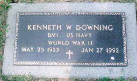 DOWNING, KENNETH WALTER - Montgomery County, Ohio   KENNETH WALTER DOWNING - Ohio Gravestone Photos