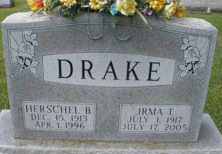 DRAKE, IRMA T. - Montgomery County, Ohio   IRMA T. DRAKE - Ohio Gravestone Photos