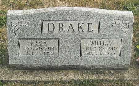DRAKE, WILLIAM - Montgomery County, Ohio   WILLIAM DRAKE - Ohio Gravestone Photos