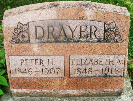 DRAYER, ELIZABETH A. - Montgomery County, Ohio | ELIZABETH A. DRAYER - Ohio Gravestone Photos