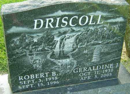 DRISCOLL, GERALDINE J - Montgomery County, Ohio   GERALDINE J DRISCOLL - Ohio Gravestone Photos