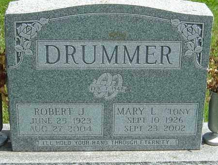 DRUMMER, ROBERT J - Montgomery County, Ohio | ROBERT J DRUMMER - Ohio Gravestone Photos
