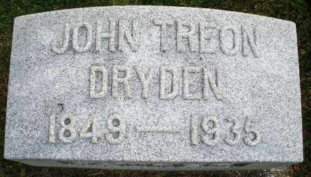 DRYDEN, JOHN TREON - Montgomery County, Ohio | JOHN TREON DRYDEN - Ohio Gravestone Photos