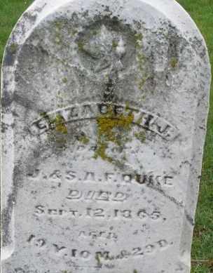 DUKE, ELIZABETH J - Montgomery County, Ohio   ELIZABETH J DUKE - Ohio Gravestone Photos