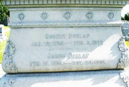 DUNLAP, ROBERT - Montgomery County, Ohio | ROBERT DUNLAP - Ohio Gravestone Photos