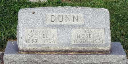 DUNN, RACHEL J. - Montgomery County, Ohio | RACHEL J. DUNN - Ohio Gravestone Photos