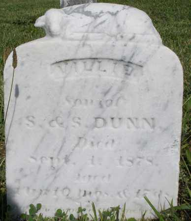 DUNN, WILLIE - Montgomery County, Ohio | WILLIE DUNN - Ohio Gravestone Photos
