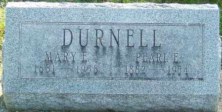 DURNELL, PEARL EUGENE - Montgomery County, Ohio   PEARL EUGENE DURNELL - Ohio Gravestone Photos