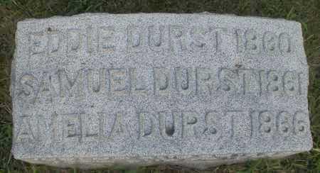 DURST, AMELIA - Montgomery County, Ohio | AMELIA DURST - Ohio Gravestone Photos