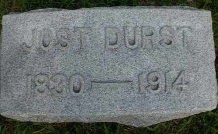 DURST, JOST - Montgomery County, Ohio | JOST DURST - Ohio Gravestone Photos