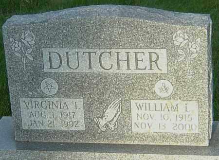DUTCHER, VIRGINIA IONA - Montgomery County, Ohio | VIRGINIA IONA DUTCHER - Ohio Gravestone Photos