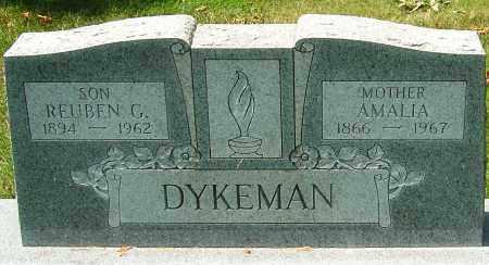 DYKEMAN, AMALIA - Montgomery County, Ohio | AMALIA DYKEMAN - Ohio Gravestone Photos