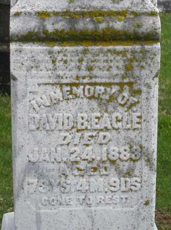 EAGLE, DAVID B. - Montgomery County, Ohio | DAVID B. EAGLE - Ohio Gravestone Photos