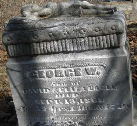 EAGLE, GEORGE - Montgomery County, Ohio   GEORGE EAGLE - Ohio Gravestone Photos