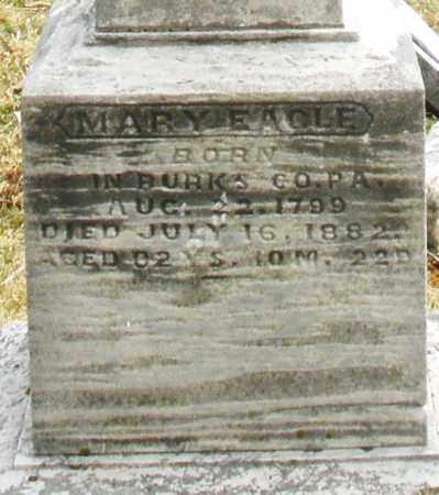EAGLE, MARY E. - Montgomery County, Ohio | MARY E. EAGLE - Ohio Gravestone Photos