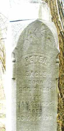 EAGLE, PETER - Montgomery County, Ohio | PETER EAGLE - Ohio Gravestone Photos