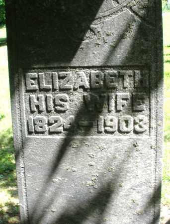 EARNST, ELIZABETH - Montgomery County, Ohio | ELIZABETH EARNST - Ohio Gravestone Photos