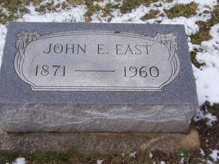 EAST, JOHN E. - Montgomery County, Ohio | JOHN E. EAST - Ohio Gravestone Photos