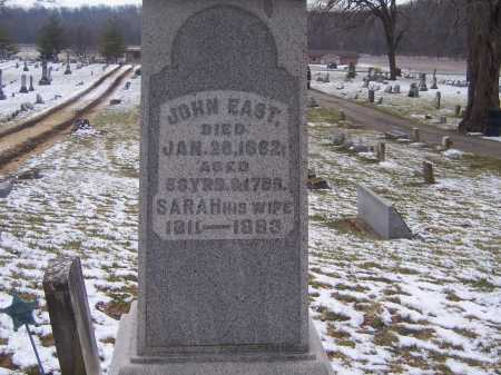 EAST, SARAH - Montgomery County, Ohio | SARAH EAST - Ohio Gravestone Photos
