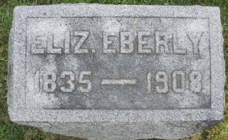 EBERLY, ELIZABETH - Montgomery County, Ohio | ELIZABETH EBERLY - Ohio Gravestone Photos