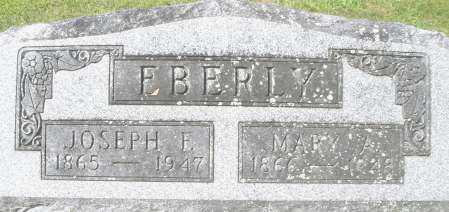 EBERLY, JOSEPH F. - Montgomery County, Ohio | JOSEPH F. EBERLY - Ohio Gravestone Photos