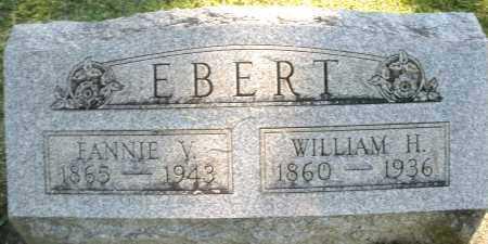 EBERT, FANNIE V. - Montgomery County, Ohio | FANNIE V. EBERT - Ohio Gravestone Photos