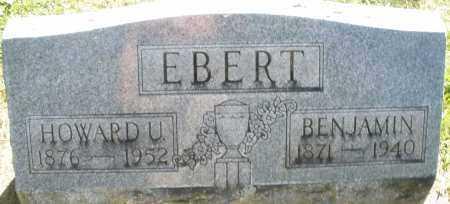EBERT, HOWARD U. - Montgomery County, Ohio | HOWARD U. EBERT - Ohio Gravestone Photos