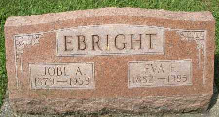 EBRIGHT, EVA E. - Montgomery County, Ohio | EVA E. EBRIGHT - Ohio Gravestone Photos