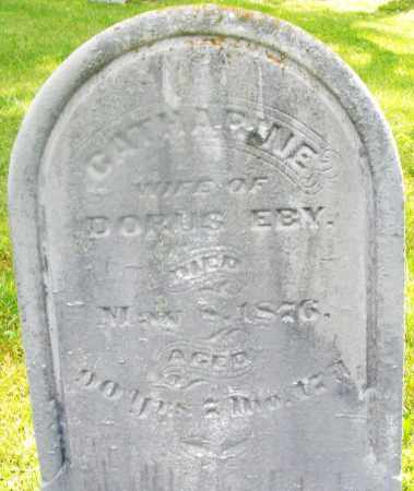 EBY, CATHARINE - Montgomery County, Ohio   CATHARINE EBY - Ohio Gravestone Photos