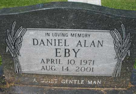 EBY, DANIEL ALAN - Montgomery County, Ohio | DANIEL ALAN EBY - Ohio Gravestone Photos