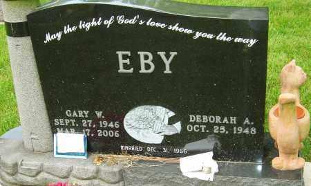 EBY, GARY W - Montgomery County, Ohio | GARY W EBY - Ohio Gravestone Photos
