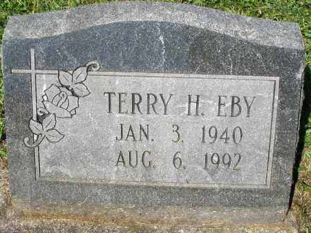 EBY, TERRY H. - Montgomery County, Ohio   TERRY H. EBY - Ohio Gravestone Photos