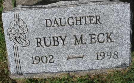 ECK, RUBY M. - Montgomery County, Ohio | RUBY M. ECK - Ohio Gravestone Photos