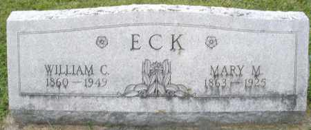 ECK, WILLIAM C. - Montgomery County, Ohio | WILLIAM C. ECK - Ohio Gravestone Photos