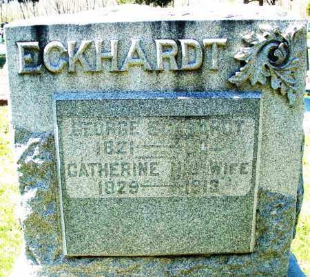 ECKHARDT, GEORGE - Montgomery County, Ohio | GEORGE ECKHARDT - Ohio Gravestone Photos