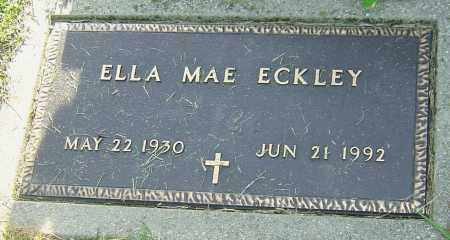 ECKLEY, ELLA MAE - Montgomery County, Ohio | ELLA MAE ECKLEY - Ohio Gravestone Photos