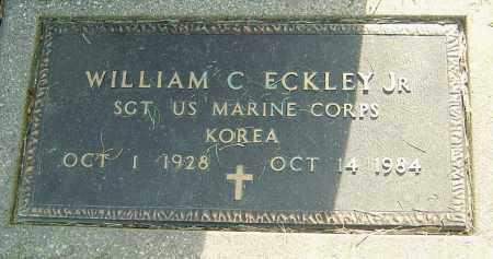 ECKLEY, WILLIAM C - Montgomery County, Ohio | WILLIAM C ECKLEY - Ohio Gravestone Photos