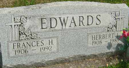 EDWARDS, HERBERT L - Montgomery County, Ohio | HERBERT L EDWARDS - Ohio Gravestone Photos
