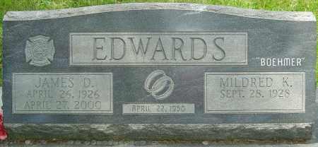 EDWARDS, JAMES DUDLEY - Montgomery County, Ohio | JAMES DUDLEY EDWARDS - Ohio Gravestone Photos