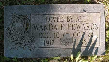 EDWARDS, WANDA E. - Montgomery County, Ohio | WANDA E. EDWARDS - Ohio Gravestone Photos