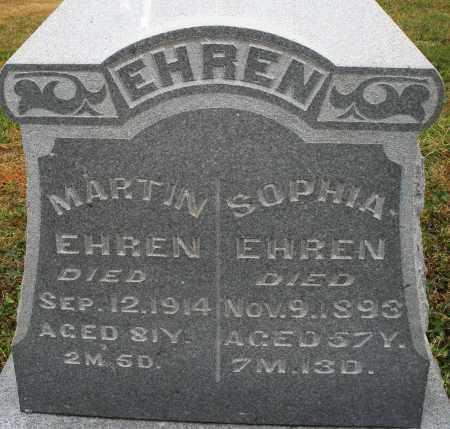 EHREN, SOPHIA - Montgomery County, Ohio | SOPHIA EHREN - Ohio Gravestone Photos