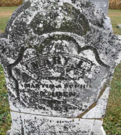 EHREN, MARY L. - Montgomery County, Ohio   MARY L. EHREN - Ohio Gravestone Photos