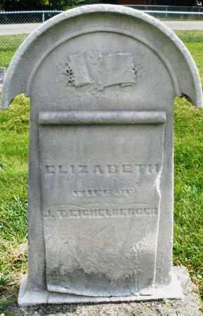 EIGHELBERGER, ELIZABETH - Montgomery County, Ohio | ELIZABETH EIGHELBERGER - Ohio Gravestone Photos